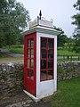 Tyneham - The telephone kiosk - geograph.org.uk - 886019.jpg