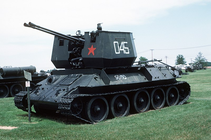 NV type 65 SPAAG - Credits : wikipedia commons