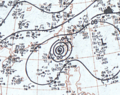 Typhoon Elsie September 15, 1966 surface analysis.png
