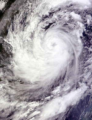 Typhoon Ketsana - Image: Typhoon Ketsana 2009 09 28 0330Z