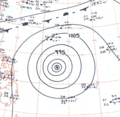 Typhoon Ophelia analysis 1 Dec 1960.png