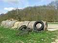 Tyres And Bales - geograph.org.uk - 1806477.jpg