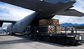 U.S. Airmen with the 612th Air Base Squadron, Joint Task Force-Bravo unload and load supplies and refuel a C-130 Hercules aircraft at Soto Cano Air Base, Honduras, Jan. 8, 2014 140108-F-ZZ999-008.jpg