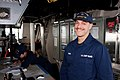 U.S. Coast Guard Seaman Stephen Houses, a deck hand aboard the maritime security cutter USCGC Bertholf (WMSL 750), poses for a photo as he stands bridge watch Sept 120915-G-ZZ999-002.jpg