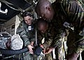 U.S. Forces perform mass casualty evacuation training with the Botswana Defence Force (7836563198).jpg