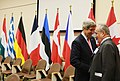 U.S. Secretary of State John Kerry meets with Czech Foreign Minister Karel Schwarzenberg at the NATO Foreign Ministerial in Brussels, Belgium on April 23, 2013.jpg