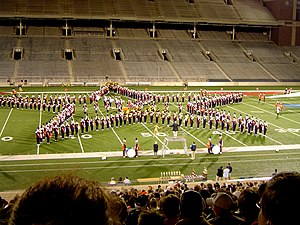 Marching Illini - The Marching Illini at the 2004 Marching Festival