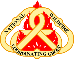 Logo of the United States National Wildfire Co...