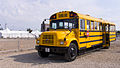 USA school bus at London Pleasure Gardens (7859916544).jpg