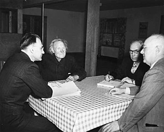 USCGC Northwind (WAGB-282) - Judge Kehoe holding court in Homer, Alaska in 1948