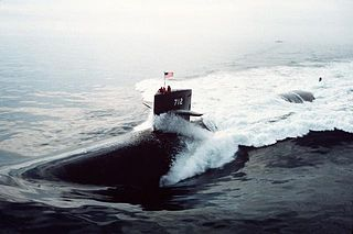 USS <i>Atlanta</i> (SSN-712) Los Angeles-class nuclear-powered attack submarine of the US Navy