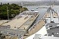 US Navy 050708-N-3207B-126 Adm. Gary Roughead relieves Adm. Walter F. Doran as Commander of the U.S. Pacific Fleet, in a ceremony pier side.jpg