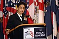 US Navy 070420-N-3642E-037 Rear Adm. Michelle Howard remarks on her time in service, during her frocking ceremony.jpg