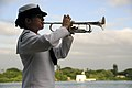 US Navy 091207-N-7498L-511 Musician Kristen Snitzer, assigned to the U.S. Pacific Fleet Navy Band, performs.jpg