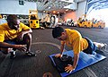 US Navy 101024-N-1285M-051 Sailors conduct a physical readiness test.jpg