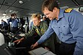 US Navy 110525-N-YZ751-029 Capt. Richard Powell, right, commanding officer of the Royal Navy destroyer HMS Dauntless (D33), gives a tour of the shi.jpg