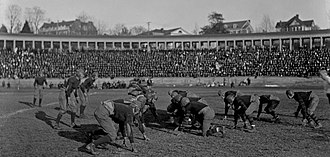 Lambeth Field - Vanderbilt-Virginia football game at Lambeth Field, 1919.