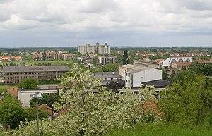 Ub, Serbia - Panoramic view on Ub