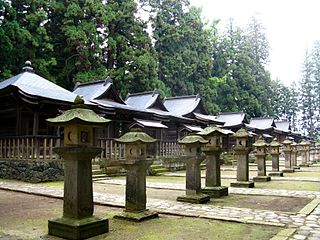 Yonezawa Uesugi clan cemetery
