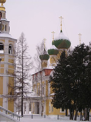 Uglich - The Transfiguration Cathedral in the Uglich kremlin