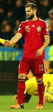45b97caf02c Nacho playing for Spain in 2015