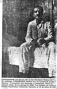 Levantamiento Campesino En El Salvador De 1932 Wikipedia