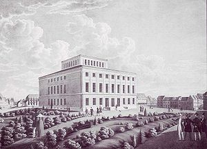 Martin Luther University of Halle-Wittenberg - University of Halle in 1836.