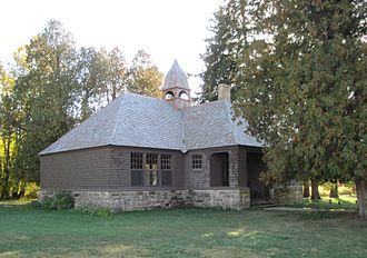 Jenkin Lloyd Jones - Unity Chapel, Jones's rustic church in the Wyoming Valley.