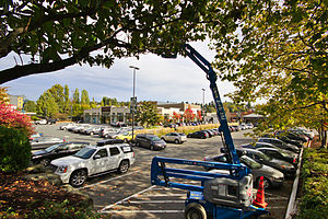 University Village, Seattle - Image: University Village, Seattle, Washington, 2014 10 13 07