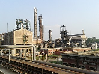 Urea - A process plant in Bangladesh, that commercially produces urea as fertilizer by using methane as the main raw material.