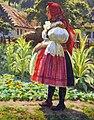 Václav Malý (1874-1935) - Dívka v kroji 2.jpg
