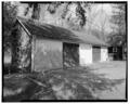 VIEW WEST, FRONT. - Parsons Nursery, Implement Building, South side of U.S. Route 219, Parsons, Tucker County, WV HABS WVA,47-PARS.V,1L-1.tif