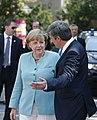 VK Spindelegger trifft deutsche BK Merkel (9093258198).jpg