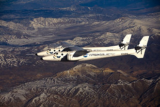 Commercial use of space - Virgin Galactic VMS Eve