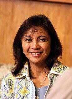 Leni Robredo Filipino politician