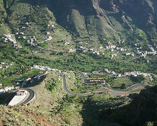 Valle Gran Rey Gomera