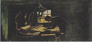 Weaver Arranging Threads