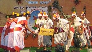 Vanavasi Kalyan Ashram - Folk dance performance at a tribal congregation organized by Vanavasi Kalyan Ashram