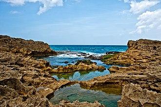 Vega Baja, Puerto Rico - Vega Baja, Puerto Rico tidepools