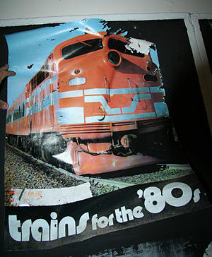 New Deal (railway) - VicRail poster promoting the New Deal and new exterior livery