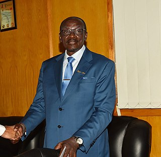 Kembo Mohadi Minister in the cabinet of Zimbabwe