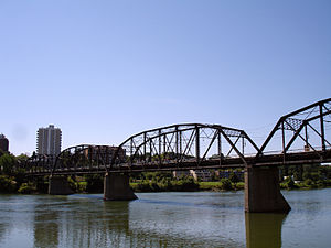 Nutana, Saskatoon - Original Traffic Bridge