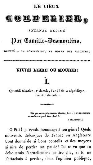 Le Vieux Cordelier - Image: Vieuxcordelier
