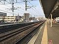 View from platform No.2 of Kashii Station.jpg