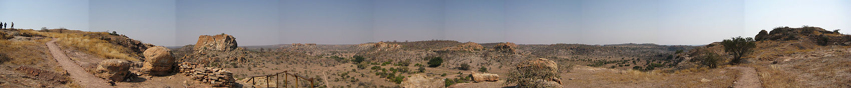 Panorama from the top of Mapungubwe Hill