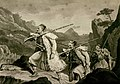View of Albanian palikars in pursuit of an enemy - Hughes Thomas Smart - 1820.jpg