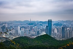 View of Guiyang, Guizhou from Neighboring Mountains.jpg