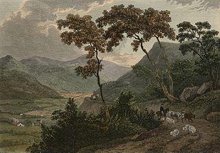 View of Llangollen Vale