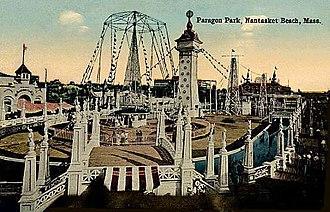 Paragon Park - Paragon Park circa 1914