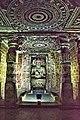 View of a Sanctum, Ajanta Caves.jpg